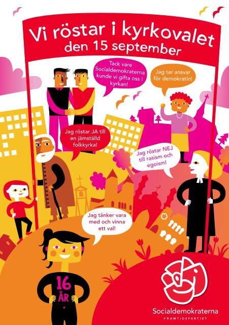 12-punktsmanifest inför kyrkovalet 2013 - Socialdemokraterna