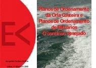 Planos de Ordenamento da Orla Costeira e Planos de Ordenamento ...