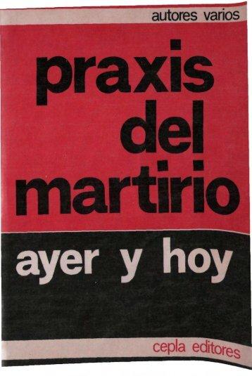 praxis del martirio