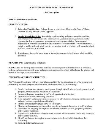 instructional coordinator job description