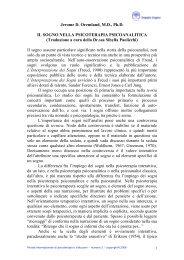 CAPITOLO PRIMO - Doppio Sogno