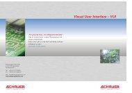 Visual User Interface – VUI - Schauer Agrotronic GmbH