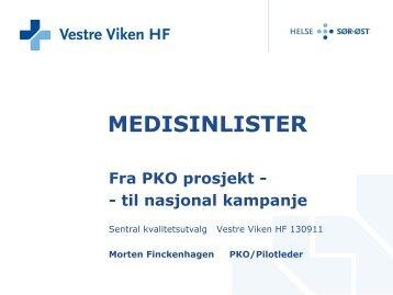 Presentasjon 2 - Vestre Viken HF