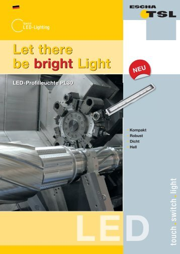 Let there be bright Light Let there be bright Light - Logo ESCHA TSL ...