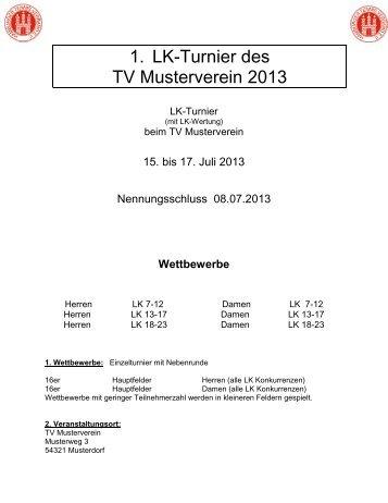 Ausschreibung Muster 1 - Hamburger Tennis-Verband e.V.
