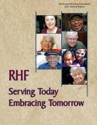 Current Annual Report - Retirement Housing Foundation