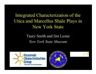 Integrated Characterization of the Utica and Marcellus Shale Plays ...