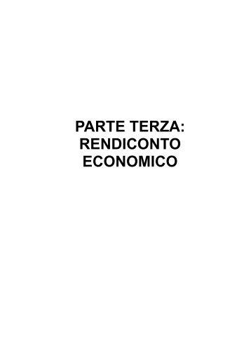 """Bilancio Sociale UNICEF 2006 - Parte III """"Rendiconto economico"""""""