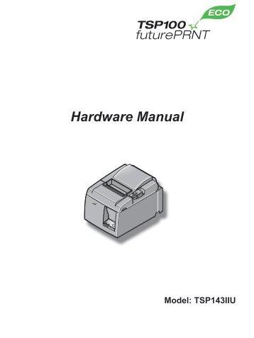 TSP100IIU Hardware Manual - POS systems