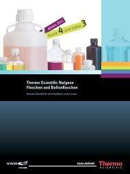 Thermo Scientific Nalgene Flaschen und Ballonflaschen