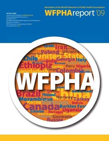 WFPHA Report 2009 - World Federation of Public Health Associations