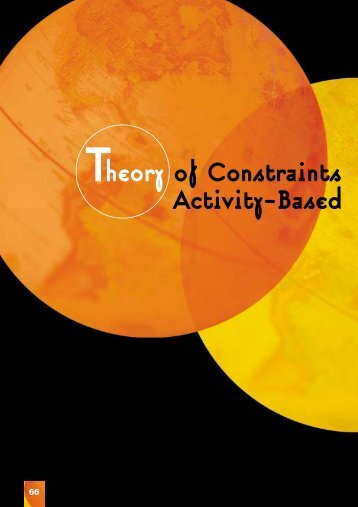 Theory of Constraints Activity-Based - University of Auckland ...