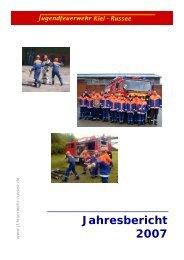 Meldung als pdf - Freiwillige Feuerwehr Kiel - Russee