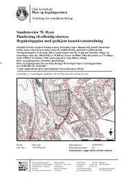 Sandstuveien 70, Ryen Planforslag til offentlig ettersyn ...