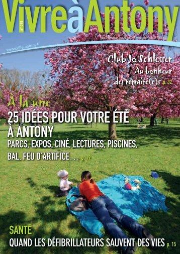 20 À LA UNE N°270 - JUILLET/AOûT 2012 - Ville d'Antony