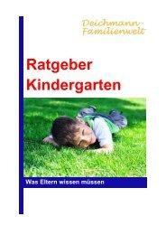 Ratgeber Kindergarten - Deichmann-Familienwelt