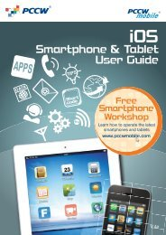 Smartphone & Tablet User Guide - PCCW Mobile