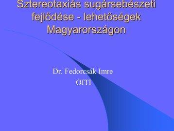 Dr. Fedorcsák Imre Ph.D.