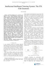 Intellectual Intelligent Tutoring System - IJET