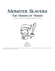 Monster Slayers - Wizards of the Coast
