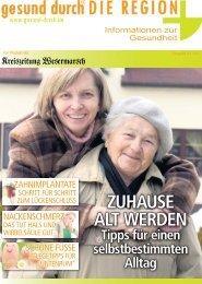 ZUHAUSE ALT WERDEN - Kreiszeitung Wesermarsch