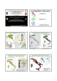 Il processo di conservazione ecoregionale in Sardegna e ... - Planeco