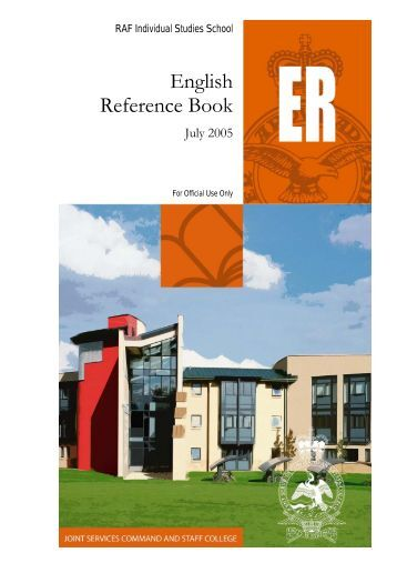 English Reference Book