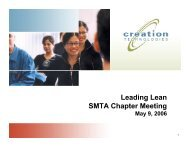 Leading Lean SMTA Chapter Meeting