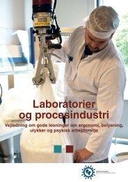 Laboratorier og procesindustri - Industriens Branchearbejdsmiljøråd