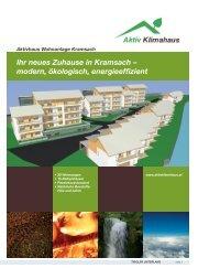 Ihr neues Zuhause in Kramsach – modern ... - Aktiv Klimahaus
