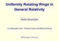 Uniformly Rotating Rings in General Relativity