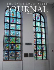 The 2010 Journal - Saint Louis Abbey