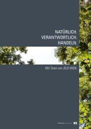 Nachhaltigkeit - Wohngesundheit - Jeld Wen