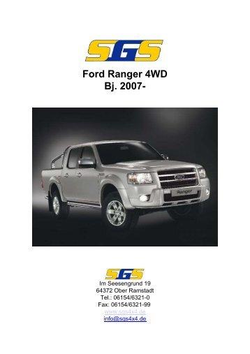 Ford Ranger 4WD Bj. 2007- - SGS