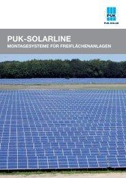 Katalog herunterladen - puk-solar gmbh & co. kg