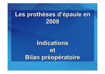 Prothèse épaule - ClubOrtho.fr