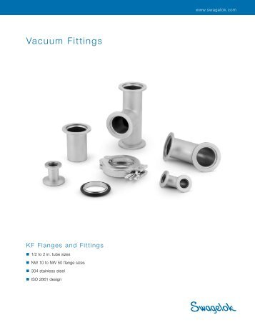Vacuum Fittings, KF Flanges and Fittings, (MS-03-15, R3) - Eoss.com
