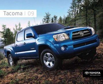 Tacoma 09 - Toyota Canada