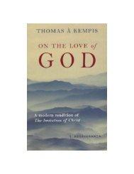 On the Love of God - HolyBooks.com