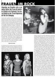 Frauen im Rock: Traurige Realitäten der weiblichen Präsenz ... - Loop