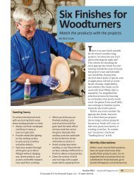 50-Turning Finishes-3.indd - Woodcraft Magazine