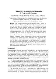 Síntese de Circuitos Digitais Otimizados via ... - GTA - UFRJ