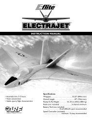 Electrajet Manual - E-flite
