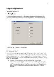 Dialog Boxes - tmarris.com