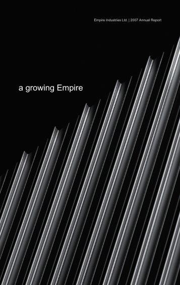 2007 Annual Report - Empire Industries