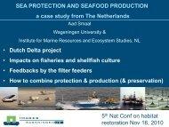 Oyster production - Restore America's Estuaries