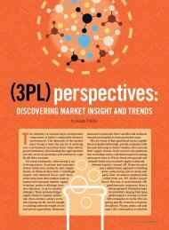 (3PL) perspectives - Inbound Logistics