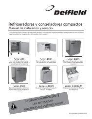 Refrigeradores y congeladores compactos