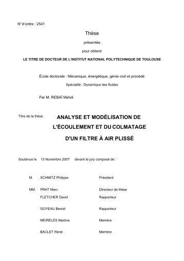 PDF (Intro, Chapitre 1, 2) - Les thèses en ligne de l'INP - Institut ...