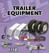 trailer axles with brakes